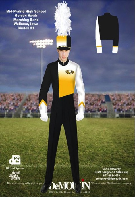 MP High School Needs New Band Uniforms