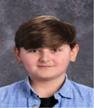 April Student of the Month :: Josh Nicholson, 8th Grade