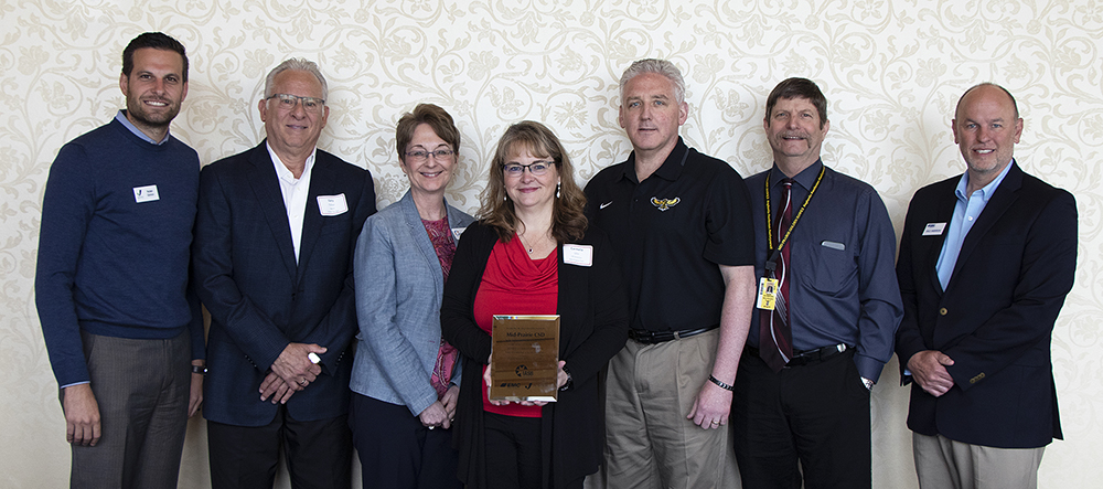 Mid-Prairie Recognized for Commitment to Safety