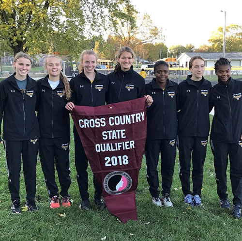 Girls Cross Country Team on to State; Quinn Schmidt to represent MP Boys