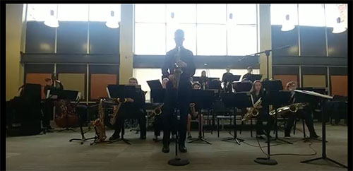Jazz Band receives 1st place at District Jazz Contest