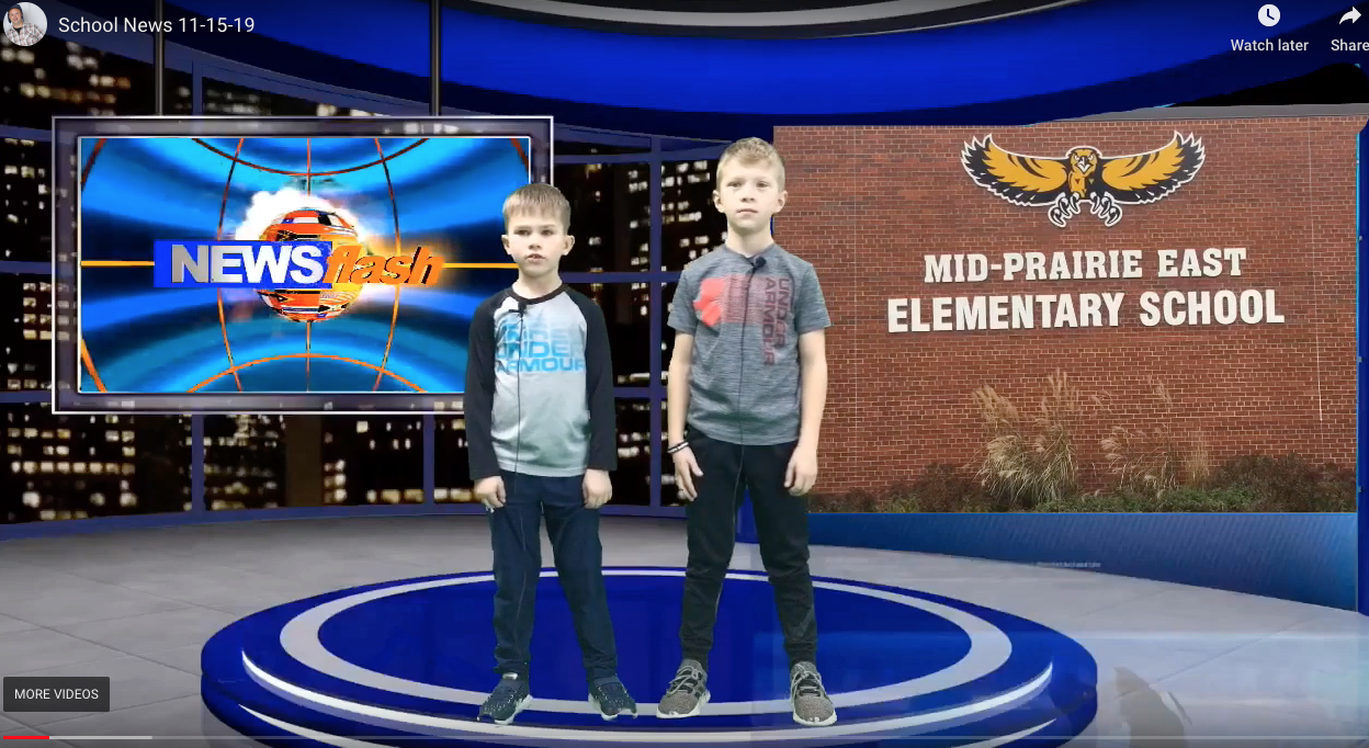 Kids Interest Clubs (KICk) feature MP East News