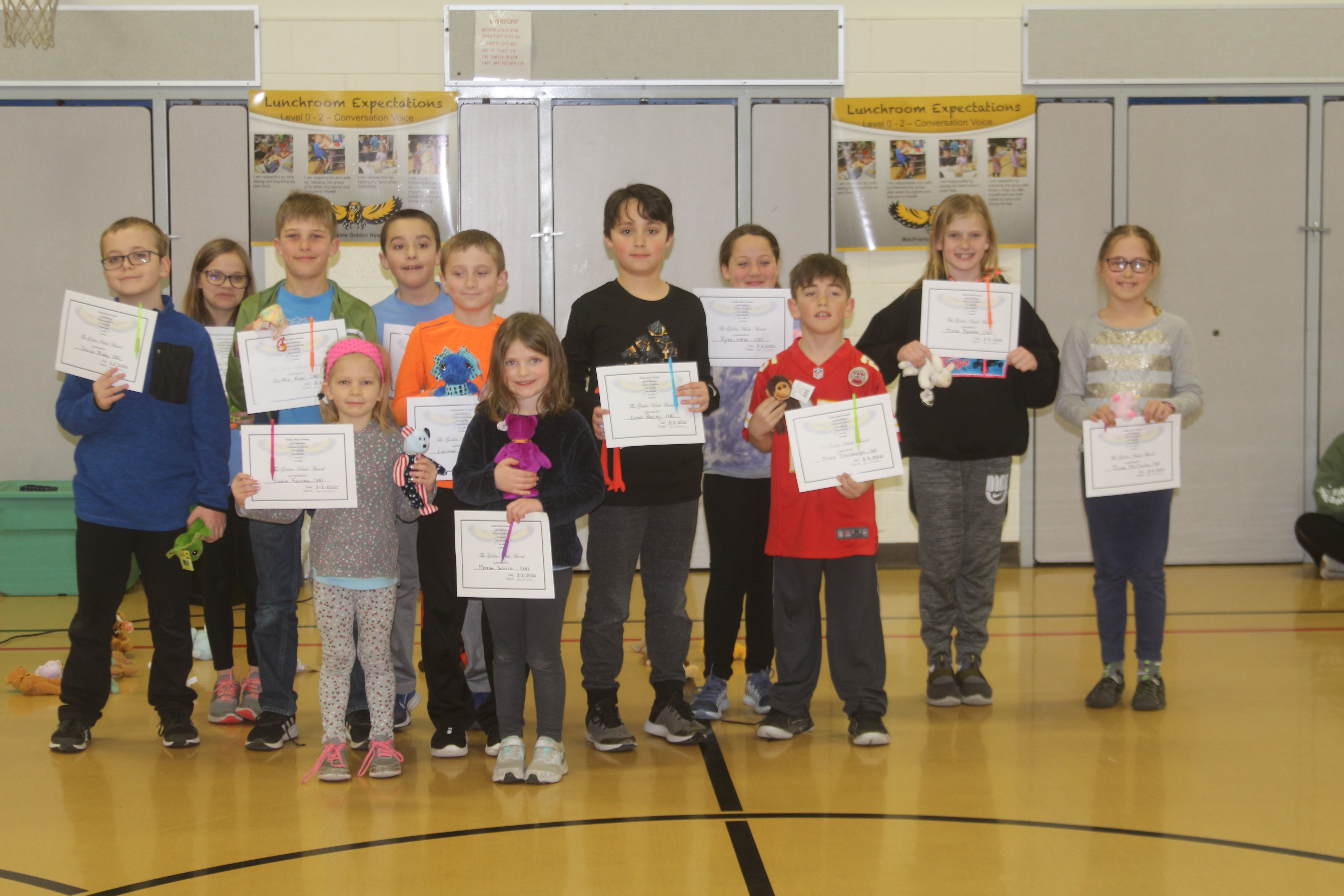 Announcing the February PBIS Winners!