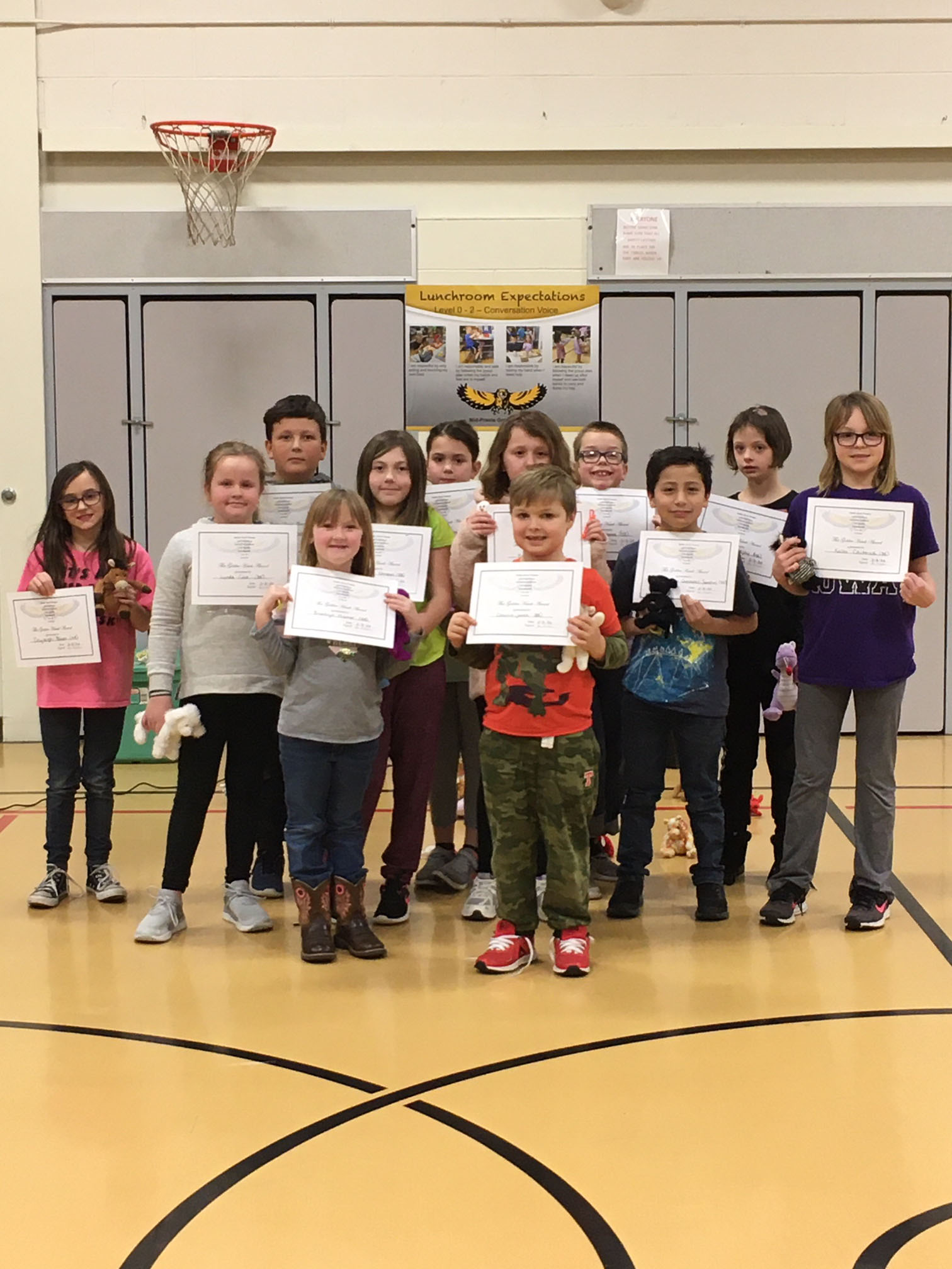 January 2020 PBIS Winners