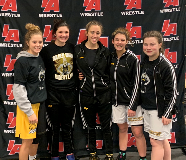 MP Girls Finish 10th at State Wrestling