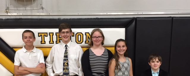 Middle school students sing at Conference Honor Choir