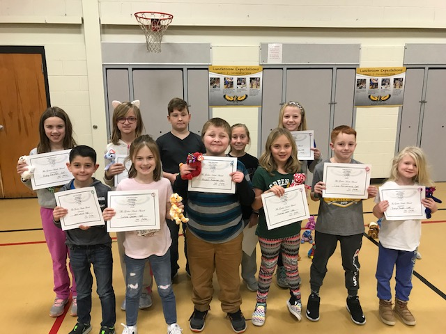 Way to go December PBIS Golden Hawks!
