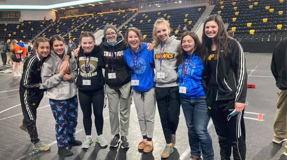 Girls wrestling team finishes 12th at State
