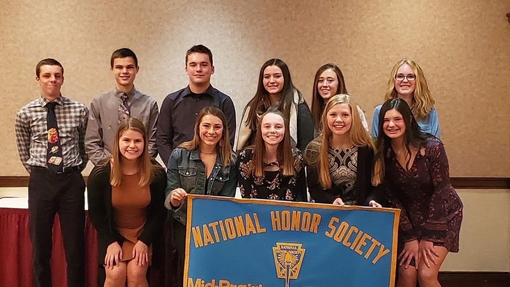 2020 National Honor Society inductees